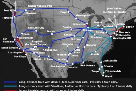 gallery for > amtrak train routes