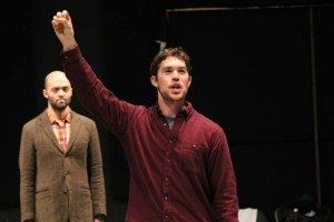 Brandon J. Simmons as Mercade, and Paul Stuart as Berowne.