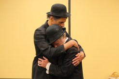 Todd Jefferson Moore as Vladimir and Darragh Kennan as Estragon