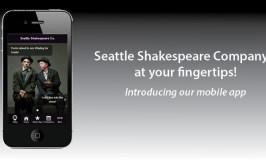 Seattle Shakespeare Company Mobile App