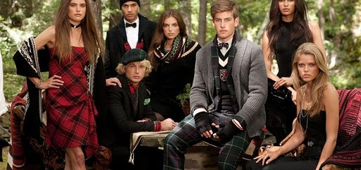 Rugby Ralph Lauren Holiday 2011 campaign