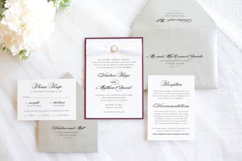 Medium Of Formal Wedding Invitations