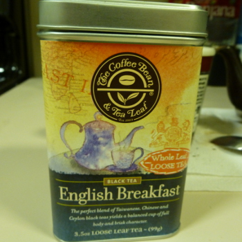 The Coffee Bean and Tea Leaf: English Breakfast Tea Review