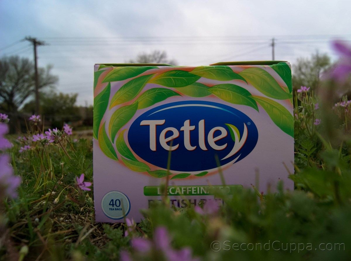 Tetley Decaffeinated British Blend Review