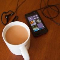 Tetley Extra Strong Tea and Nokia Lumia 620