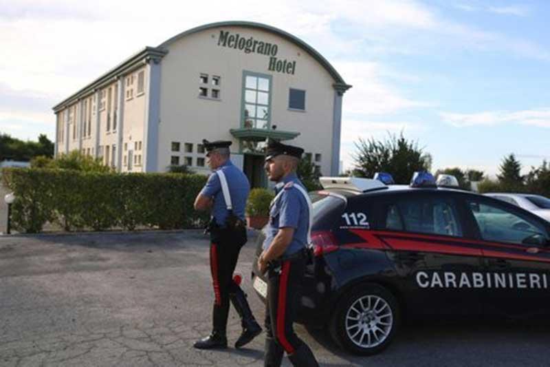 Escort uccisa in albergo; bloccato il presunto assassino