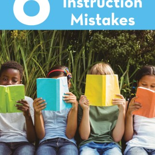 How To Avoid These 6 Common Fluency Instruction Mistakes