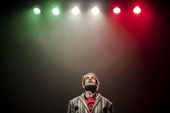 Juan Luis Matilla estrena Boh! en el Teatro Central