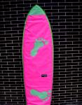 Boardbag Secretos Beach mod. Pink Foot