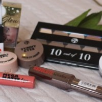 W7 Cosmetics Review and Pinky Peach Tutorial ♥
