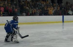 Smash Mob goalie pic