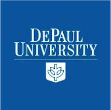 DePaul University square logo