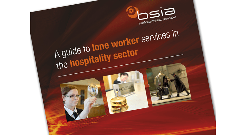 BSIA publishes guidance on lone worker services
