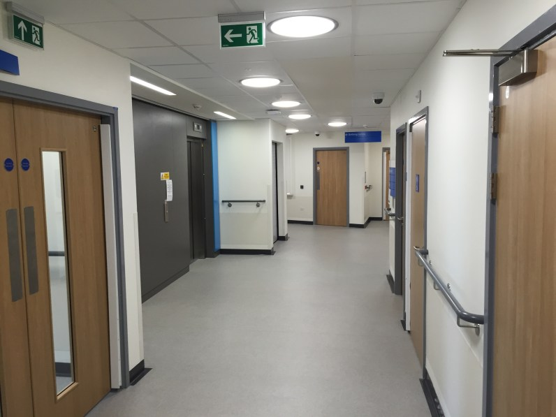 Cramlington Hospital; a new specialist emergency care centre in Northumbria
