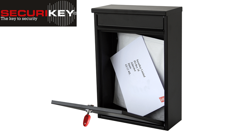 Keep mail safe from prying eyes with Securikey post boxes