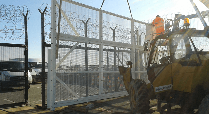 Massive Automated Gates swing into action at Eurotunnel