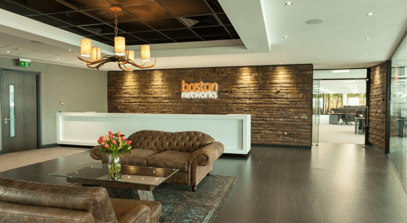 Lord Smith of Kelvin opens Boston Networks new headquarters