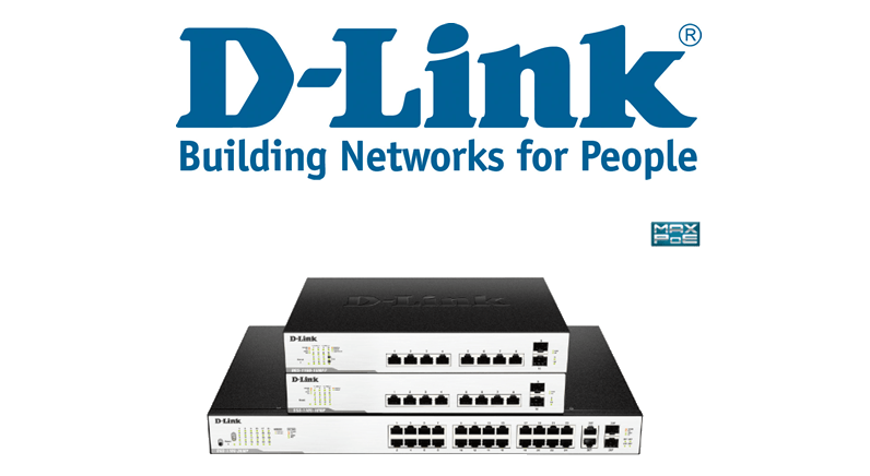 D-Link reveals new POE Network Switches with ONVIF support