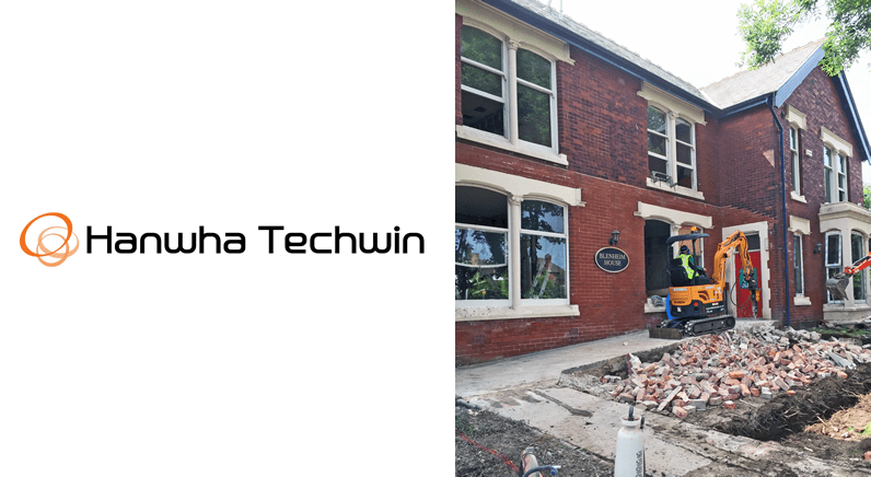 Hanwha Techwin responds to call for help from BBC DIY SOS