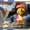 Grand Theft Simpsons ~ As ilustrações de Dan LuVisi