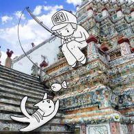 turismo doodles  31 Ilustrações de uma Aeromoça super criativa