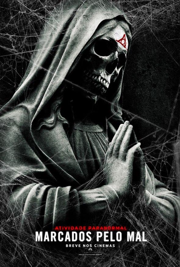 marcados pelo mal atividade paranormal #TemaOsMarcados  Atividade Paranormal: Marcados pelo Mal chega aos cinemas e assusta de verdade
