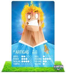 KAMPION   Um card game muito legal sobre futebol