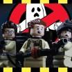 """Stop Motion de """"Os Caça-Fantasmas"""" feito em Lego"""