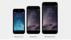Apple lança iPhone 6, iPhone 6 plus e o novo AppleWatch: Galeria de fotos
