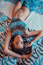 Caligrafia e Garotas, as pinturas corporais de Pokras Lampas [18+]