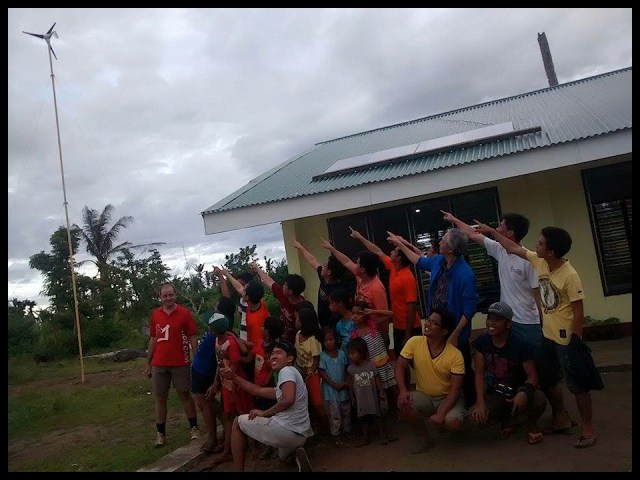 ALTERNATIVE AND CLEAN ENERGY FOR TYPHOON HIT SCHOOLS