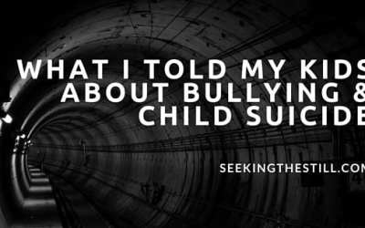 What I Told My Girls About Bullying and Child Suicide