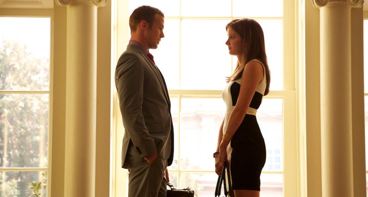 Reckless - Pictured L-R: Cam Gigandet as Roy Rayder and Anna Wood as Jamie Sawyer