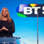 Bushel speaking at the launch of BT Sport UHD. Image: BT Plc