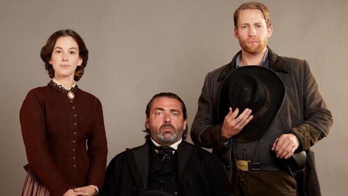 The Pinkertons made its UK debut on UKTV's DRAMA. Image: Zodiak Rights / UKTV