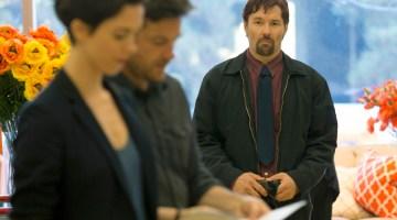 (L-R) REBECCA HALL, JASON BATEMAN and JOEL EDGERTON star in THE GIFT