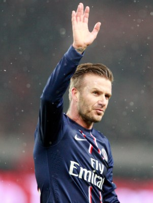 David Beckham Plays His Last Game (Video)