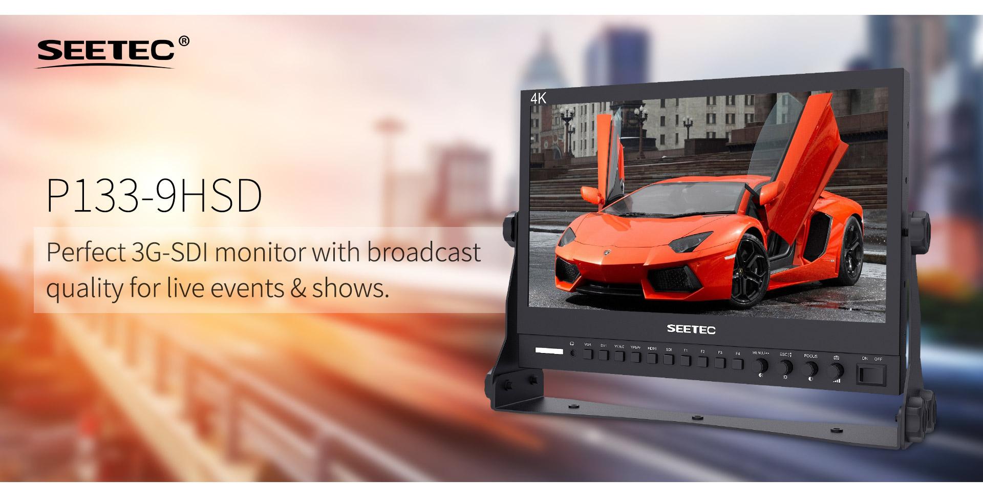 monitor 4k seetec 13.2inch