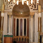 Mihrab (prayer niche) in Great Mosque at Tombs of the Patriarch (Seetheholyland.net)