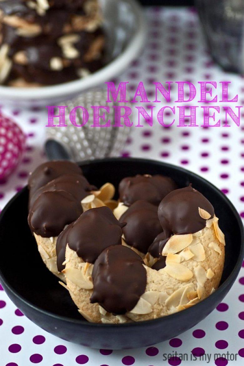 Mandelhoernchen - a German childhood favourite