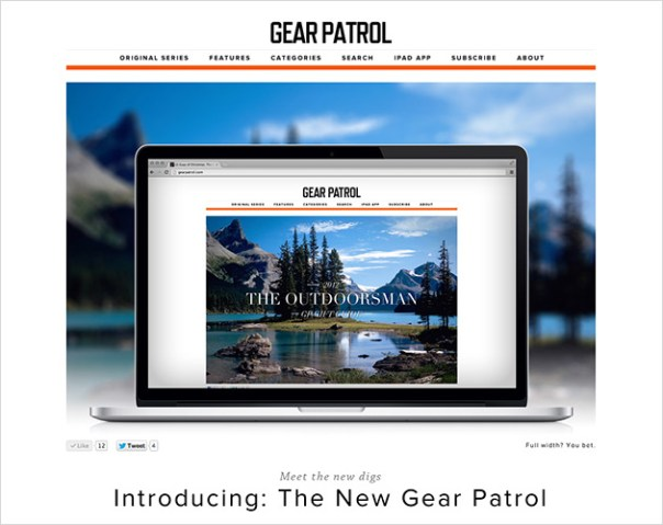 Visit the Redesigned Gear Patrol   Now Online