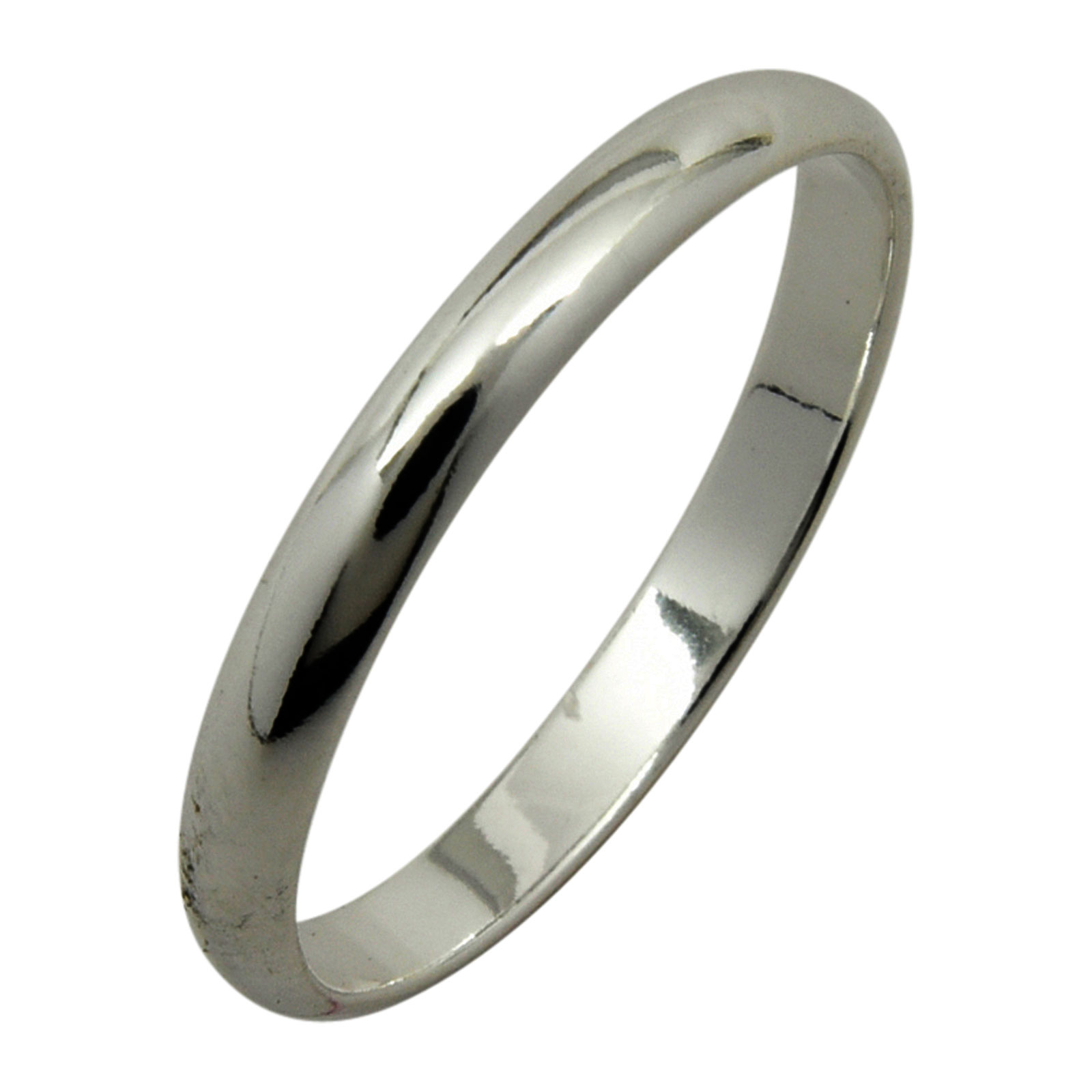 2mm wedding band ebay wedding ring sets Sterling Silver Plain 2mm Wedding Band Ring Half Round Dome Engagement