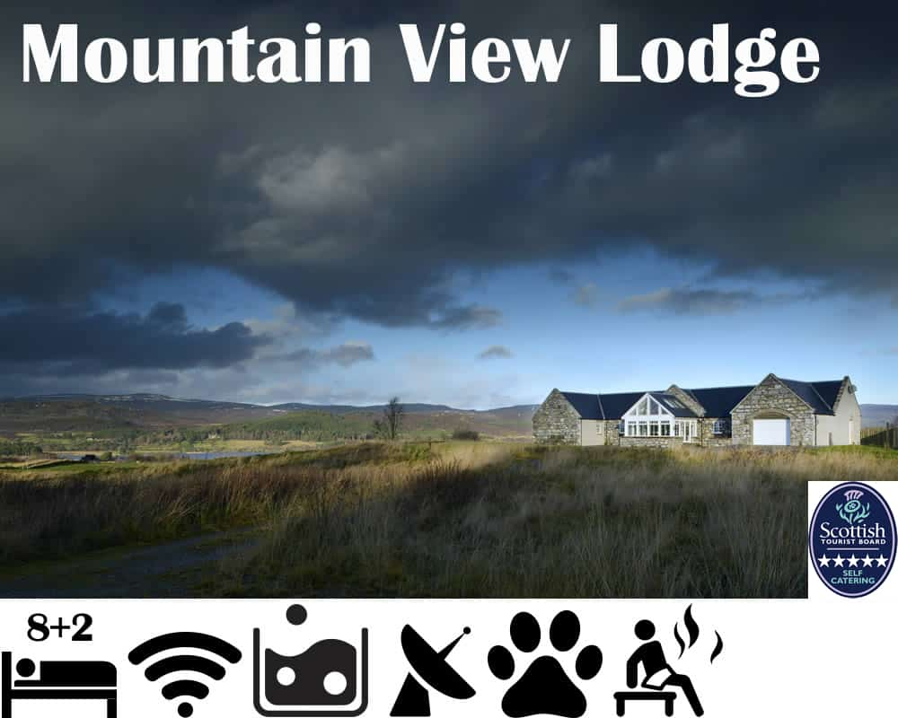 5 star Luxury self catering lodge with hot tub