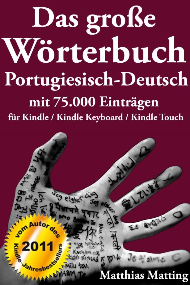 Cover des Portugiesisch-Deutschen Wörterbuchs