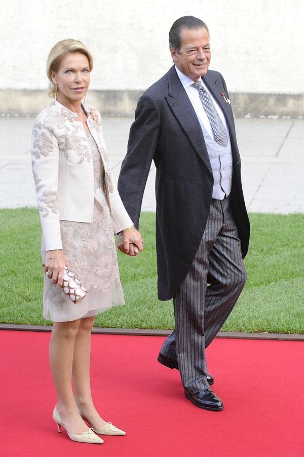 La princesa Sofía de Habsburgo y su marido, Hugo Windisch-Graetz