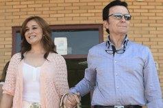 EL TORERO JOSE ORTEGA CANO Y ANA MARIA ALDON A LA SALIDA DE LA CARCEL 05/06/2015 ZARAGOZA