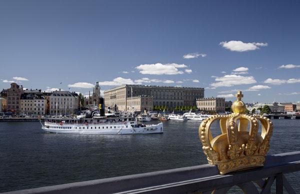 palacio real en estocolmo