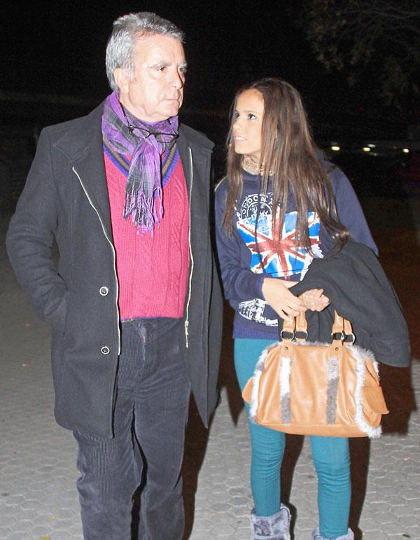 Ortega-Cano y-Gloria Camila-en Sevilla