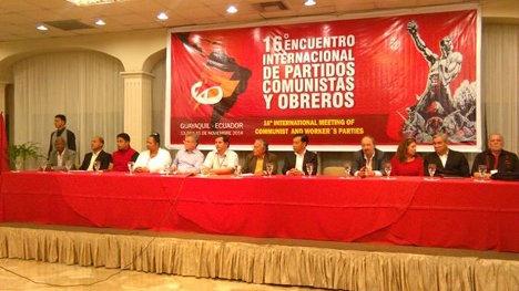 Acuerdos del XVI Encuentro Internacional de Partidos Comunistas y Obreros