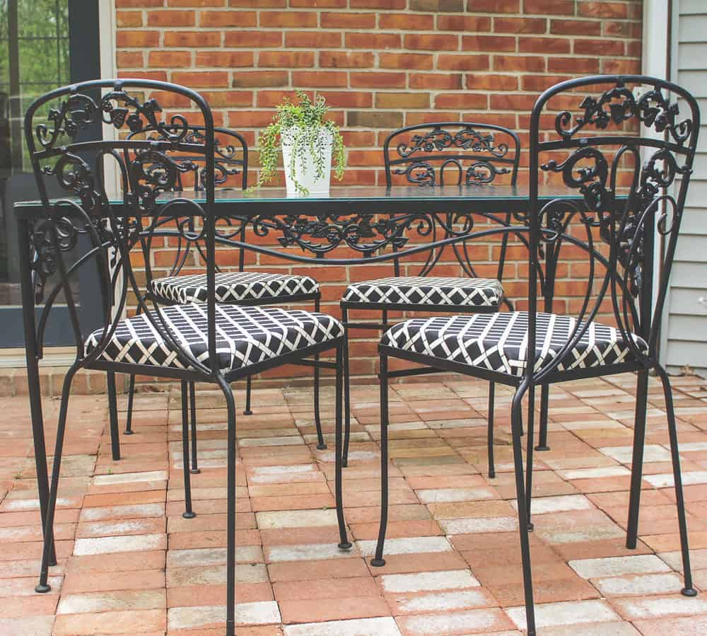 Relieving Learn How To Paint Wrought Iron Furniture Easy Updating Vintagepatio Furniture Is How To Paint Wrought Iron Furniture Easy Wrought Iron Furniture Glides Wrought Iron Furniture Brands houzz 01 Wrought Iron Furniture